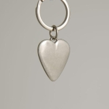 Lancaster & Gibbings Key Ring Heart Shape